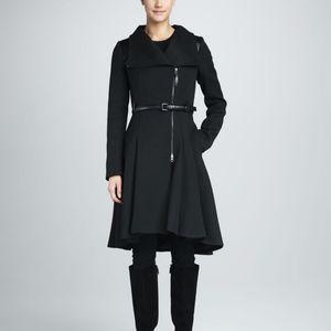Mackage Ginette Skirted Wool Coat